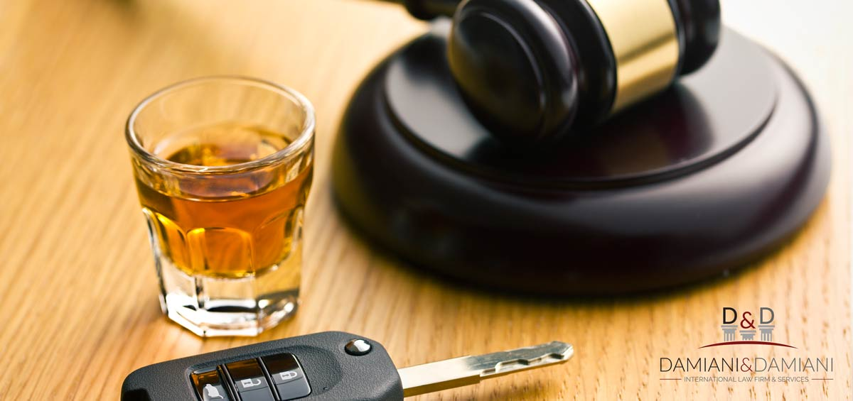Criminal law: Driving under the influence