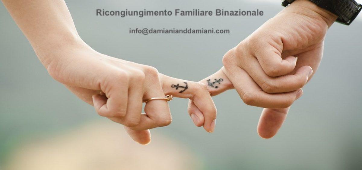 Il ricongiungimento familiare binazionale riconosciuto dai Tribunali di Torino e Venezia